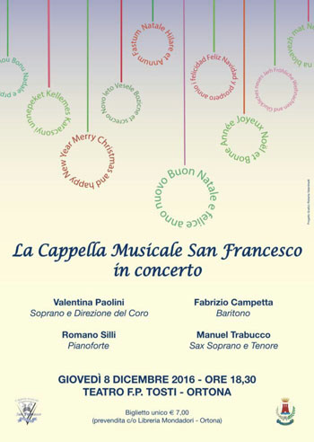 Cappella San Francesco in Concerto 2016